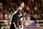 Cristiano Ronaldo of Real Madrid during La Liga match between Rayo Vallecano and Real Madrid at Vallecas Stadium in Madrid, Spain. April 08, 2015. (ALTERPHOTOS/Caro Marin)