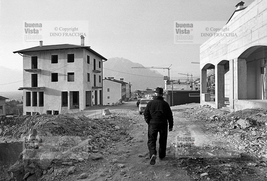 - reconstruction in Friuli after the earthquake of May 1976<br /> <br /> - ricostruzione in Friuli dopo il terremoto del maggio 1976, Gemona
