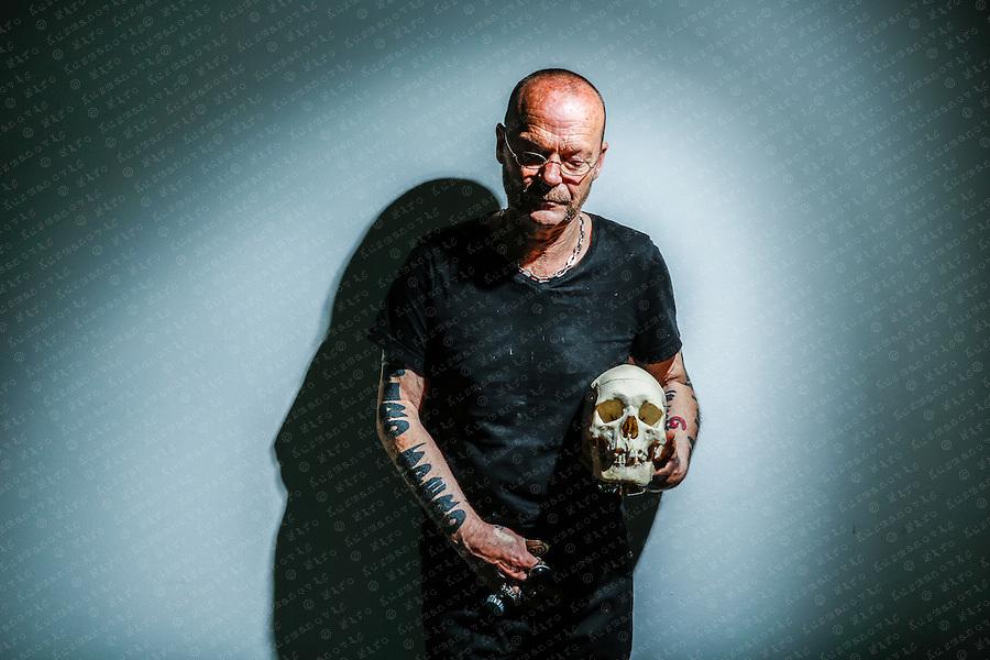 Austrian Artist Wolfgang Flatz.