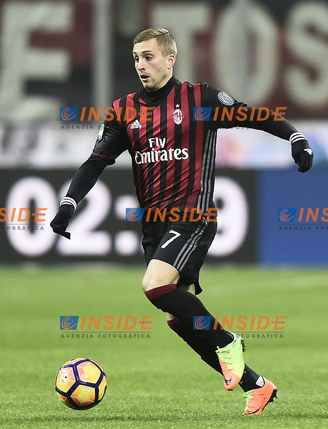 Milano 19-02-2017 Stadio Giuseppe Meazza Football Serie A 2016/2017 Milan - Fiorentina foto Image Sport/insidefoto<br /> Gerard Deulofeu