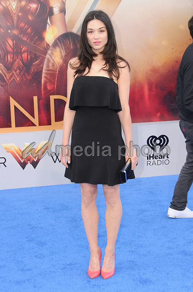 "25 May 2017 - Hollywood, California - Crystal Reed. World  Premiere of Warner Bros. Pictures'  ""Wonder Woman"" held at The Pantages Theater in Hollywood. Photo Credit: Birdie Thompson/AdMedia"