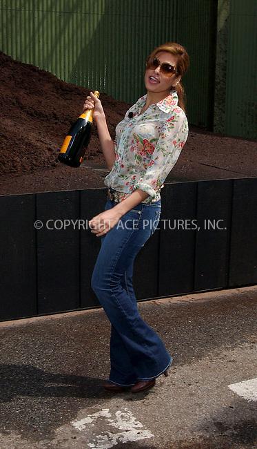 WWW.ACEPIXS.COM . . . . . ....NEW YORK, APRIL 12, 2006....Eva Mendes and Jeep Unveil Jeep's Newest Car - The Jeep 2007 Patriot.....Please byline: KRISTIN CALLAHAN - ACEPIXS.COM.. . . . . . ..Ace Pictures, Inc:  ..(212) 243-8787 or (646) 679 0430..e-mail: info@acepixs.com..web: http://www.acepixs.com