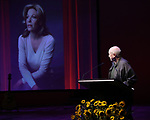 Terrence McNally during the Celebrate the Life of Marin Mazzie Memorial Service at the Gershwin Theatre on October 25, 2018 in New York City.