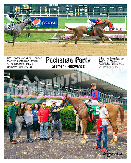 Pachanga Party winning at Delaware Park on 7/6/16