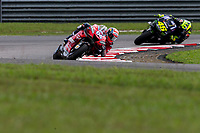 3rd November 2019; Sepang Circuit, Sepang Malaysia; MotoGP Malaysia, Race Day;  Andrea Dovizioso ahead of Valentino Rossi during the race - Editorial Use