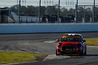 IMSA Continental Tire SportsCar Challenge<br /> The Roar Before the Rolex 24<br /> Daytona International Speedway<br /> Daytona Beach, FL USA<br /> Sunday 7 January 2018<br /> 37, MINI, MINI JCW, ST, Mat Pombo, Derek Jones, Nate Norenberg<br /> World Copyright: Jake Galstad<br /> LAT Images