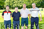 Pau; McKenna Killorglin, Eugene Kennedy Kilcummin, James Lucey Fossa and Mike Flynn Keel  at the Liebherr golf classic in Killarney Golf Course on Friday