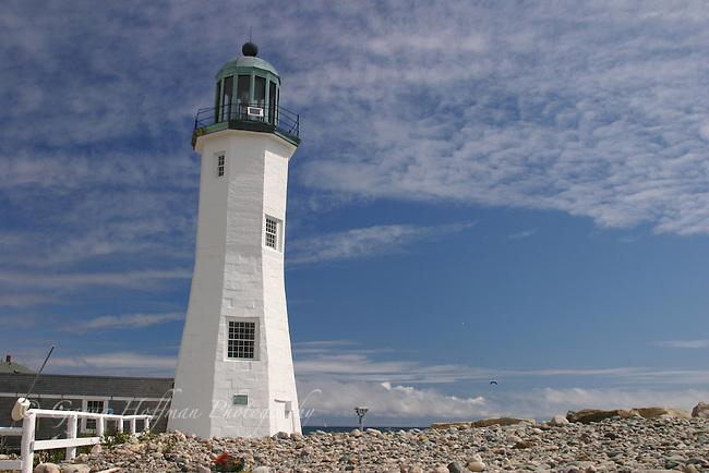 Scituate Lighthouse, Cedar Point, Scituate, MA,
