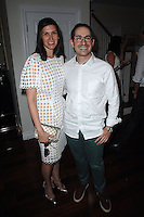 Sima Familant, Gabriel Ritter==<br /> LAXART 5th Annual Garden Party Presented by Tory Burch==<br /> Private Residence, Beverly Hills, CA==<br /> August 3, 2014==<br /> ©LAXART==<br /> Photo: DAVID CROTTY/Laxart.com==