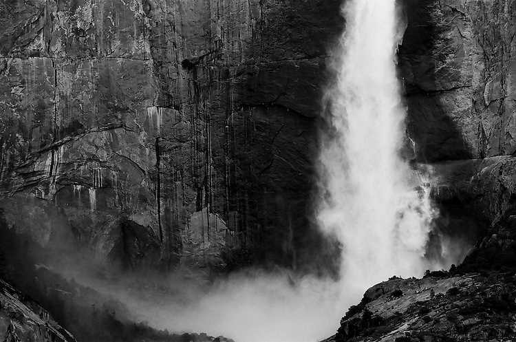 Yosemite Falls, Yosemite  35mm on film