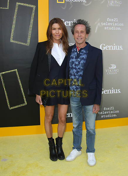 WESTWOOD, CA - April 24: Brian Grazer, Veronica Smiley, At National Geographic's Premiere Screening of &quot;Genius&quot; At The Fox Theater, Westwood Village In California on April 24, 2017. <br /> CAP/MPI/FS<br /> &copy;FS/MPI/Capital Pictures