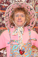 "English contemporary artist Grayson Perry attends the ""Grayson Perry: The Most Specialest Relationship"" photocall at the Victoria Miro Gallery in London. SEPTEMBER 14th 2020. **FOR USA ONLY** Credit: Matrix/MediaPunch<br />