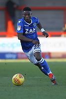 Koby Arthur of Macclesfield Town during Crawley Town vs Macclesfield Town, Sky Bet EFL League 2 Football at Broadfield Stadium on 23rd February 2019