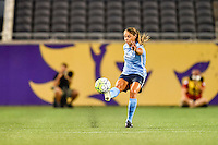 Orlando, FL - Saturday September 10, 2016: Erica Skroski during a regular season National Women's Soccer League (NWSL) match between the Orlando Pride and Sky Blue FC at Camping World Stadium.
