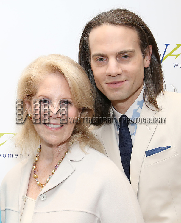 Daryl Roth and Jordan Roth attends The 7th Annual Elly Awards at The Plaza Hotel on June 19, 2017 in New York City.