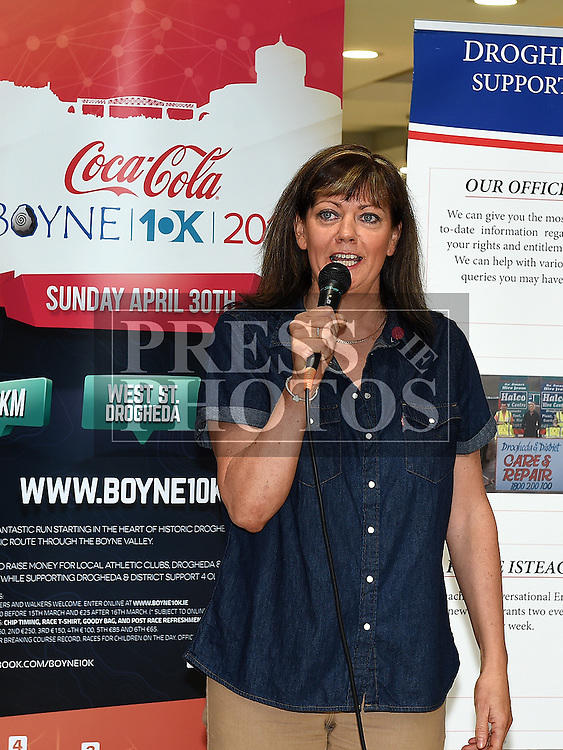 Siobhan Shortt Coca Cola at the launch of The Boyne 10K 2017 in The Laurence Centre. Photo:Colin Bell/pressphotos.ie