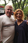 Guiding Light's Liz Keifer and Jerry verDorn host Bloss Brunch on October 8, 2017 - a part of the Guiding Light Daytime Stars and Strikes for Autism weekend at the Residence Inn, Secaucus, New Jersey. (Photo by Sue Coflin/Max Photo)