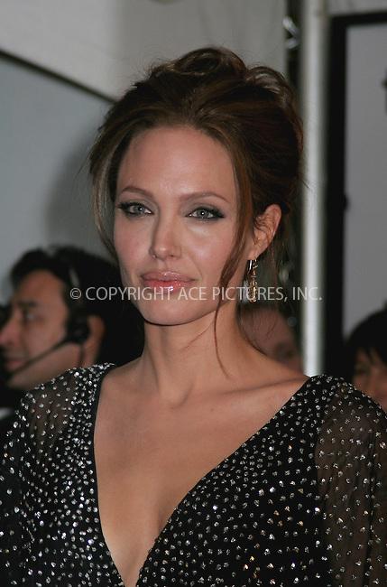 """WWW.ACEPIXS.COM . . . . .  ....NEW YORK, DECEMBER 11, 2006....Angelina Jolie at """"The Good Shepherd"""" New York Premiere. ......Please byline: NANCY RIVERA- ACEPIXS.COM.... *** ***..Ace Pictures, Inc:  ..Craig Ashby (212) 243-8787..e-mail: picturedesk@acepixs.com..web: http://www.acepixs.com"""
