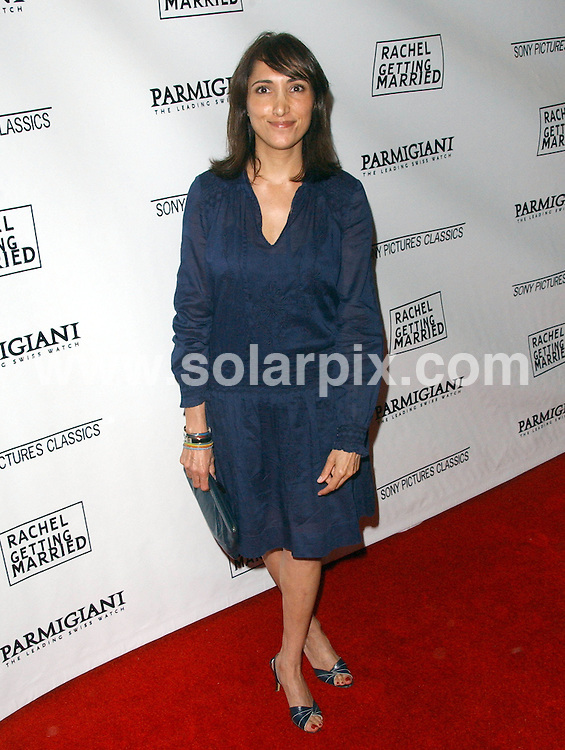**ALL ROUND PICTURES FROM SOLARPIX.COM**.**SYNDICATION RIGHTS FOR UK, SPAIN, PORTUGAL, AUSTRALIA, S.AFRICA & DUBAI (U.A.E) ONLY**.The Rachel Getting Married Los Angeles film Premiere at the The Writers Guild Theatre in Beverly Hills, California in the USA..This pic:Neda Armian..JOB REF:7347-PHZ/Albert.L.Ortega     DATE:15_09_08 .**MUST CREDIT SOLARPIX.COM OR DOUBLE FEE WILL BE CHARGED* *UNDER NO CIRCUMSTANCES IS THIS IMAGE TO BE REPRODUCED FOR ANY ONLINE EDITION WITHOUT PRIOR PERMISSION*