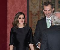 Queen Letizia and King Felipe VI