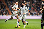 Isco (l) of Real Madrid in action during the La Liga match between Real Madrid and RC Deportivo La Coruna at the Santiago Bernabeu Stadium on 10 December 2016 in Madrid, Spain. Photo by Diego Gonzalez Souto / Power Sport Images