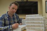 Markus Zusak Signs Copies Of 'Bridge Of Clay' at Miami Dade College