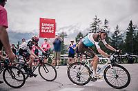 Romain Bardet (FRA/AG2R-La Mondiale)<br /> <br /> Stage 6: Frontenex &gt; La Rosi&egrave;re Espace San Bernardo (110km)<br /> 70th Crit&eacute;rium du Dauphin&eacute; 2018 (2.UWT)