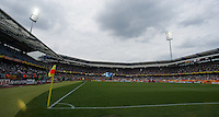 Franken-Stadium. Ghana defeated the USA 2-1 in their FIFA World Cup Group E match at Franken-Stadion, Nuremberg, Germany, June 22, 2006. Ghana advances to round of 16 and the USA is out of the tournament.