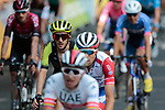 Adam Yates (GBR) Mitchelton-Scott crosses the finish line of Stage 11 of the 2019 Tour de France running 167km from Albi to Toulouse, France. 17th July 2019.<br /> Picture: Colin Flockton | Cyclefile<br /> All photos usage must carry mandatory copyright credit (© Cyclefile | Colin Flockton)