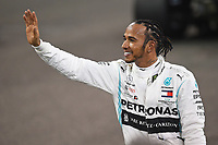 30th November 2019; Yas Marina Circuit, Abu Dhabi, United Arab Emirates; Formula 1 Abu Dhabi Grand Prix, qualifying day;  Lewis Hamilton Mercedes-AMG Petronas
