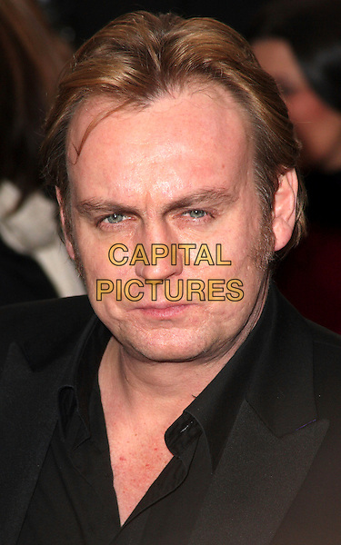 PHILIP GLENISTER .British Comedy Awards 2009 held at the ITV Studios, South Bank, London,.December 12th 2009..portrait headshot black phillip.CAP/JIL.©Jill Mayhew/Capital Pictures