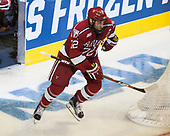 Phil Zielonka (Harvard - 72) - The University of Minnesota Duluth Bulldogs defeated the Harvard University Crimson 2-1 in their Frozen Four semi-final on April 6, 2017, at the United Center in Chicago, Illinois.
