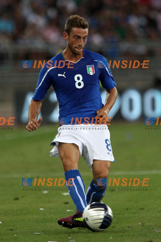 Claudio Marchisio..Bari 10/8/2011 Stadio S.Nicola..Football Calcio amichevole Italia Vs Spagna..Foto Insidefoto Paolo Nucci