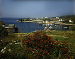 Fishing village of Northwest Cove, Nova Scotia<br />
