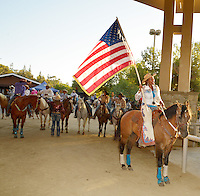 CITY OF INDUSTRY, CA - JULY 16: Cowgirls and Cowboys attend the 32nd Annual Bill Pickett Invitational Rodeo Rides, Southern California at The Industry Hills Expo Center in the City of Industry on July 16, 2016 in the City of Industry, California. Credit: Koi Sojer/Snap'N U Photos/MediaPunch
