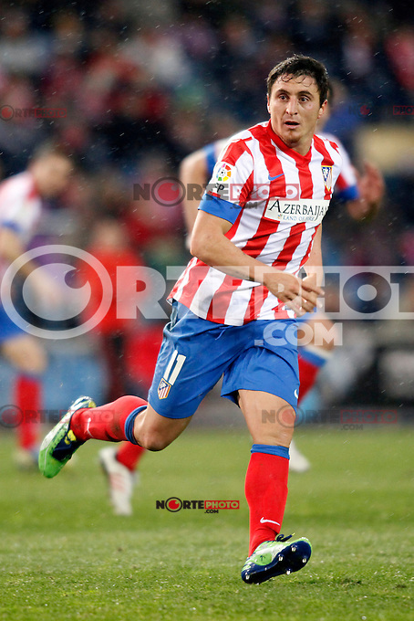 Atletico de Madrid vs Levante during La Liga Match, in the pic: Cristian Rodriguez. January 20, 2013. (ALTERPHOTOS/Caro Marin) /NORTEPHOTO