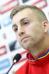 Spain's Gerard Deulofeu in press conference after training session. March 22,2017.(ALTERPHOTOS/Acero)