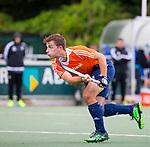 DEN HAAG - Tristan Algera tijdens de trainingswedstrijd Nederland-Argentinie (1-2). COPYRIGHT KOEN SUYK