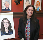 Julie Taymor attends the Julie Taymor Sardi's Caricature unveiling at Sardi's Restaurant on November 3, 2017 in New York City.