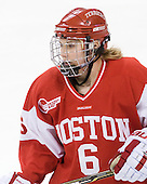 Carly Warren (BU - 6) - The visiting Boston University Terriers defeated the Boston College Eagles 1-0 on Sunday, November 21, 2010, at Conte Forum in Chestnut Hill, Massachusetts.