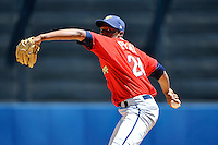 State College Spikes pitcher Vince Payne #24 during a game against the Staten Island Yankees at Richmond County Bank Ballpark at St. George on July 14, 2011 in Staten Island, NY.  Staten Island defeated State College 6-4.  Tomasso DeRosa/Four Seam Images