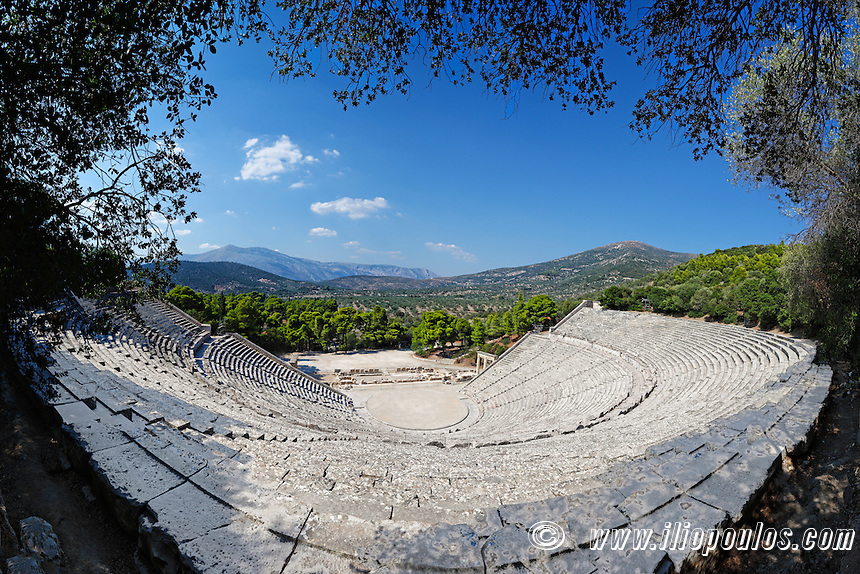 Asklepieion Ancient Theater Epidaurus (340  B.C.), Greece