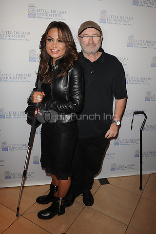 HOLLYWOOD FL - JUNE 11: Phil Collins  and Orianne Collins attend The Little Dreams Foundation auditions at Paradise Live held at the Seminole Hard Rock Hotel & Casino on June 11, 2016 in Hollywood, Florida. Credit: mpi04/MediaPunch