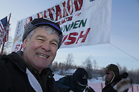 Saturday February 25, 2012   at Knik Lake during the Junior Iditarod start.  Phil Meyer.