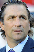 Philadelphia, PA - Tuesday June 14, 2016: Juan Antonio Pizzi prior to a Copa America Centenario Group D match between Chile (CHI) and Panama (PAN) at Lincoln Financial Field.