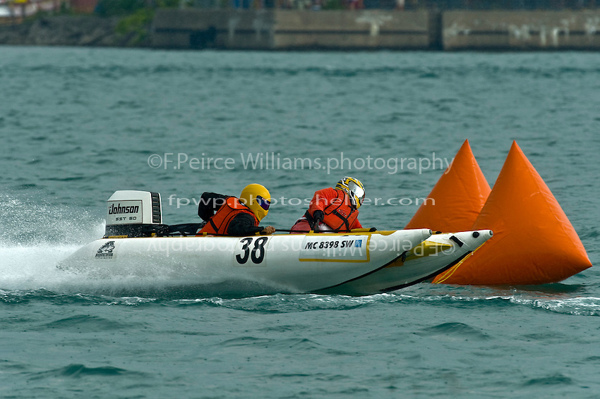 13 July 2008  APBA Gold Cup.Super Light Tunnels.©2008 F.Peirce Williams.