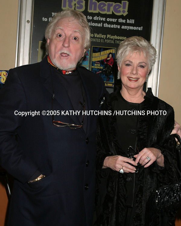 ©2005 KATHY HUTCHINS /HUTCHINS PHOTO.ETHEL MERMAN'S BROADWAY PLAY.CELEBRITY OPENING.EL PORTAL THEATER.NO HOLLYWOOD, CA.FEBRUARY 4, 2005..SHIRLEY JONES.MARTY INGELS