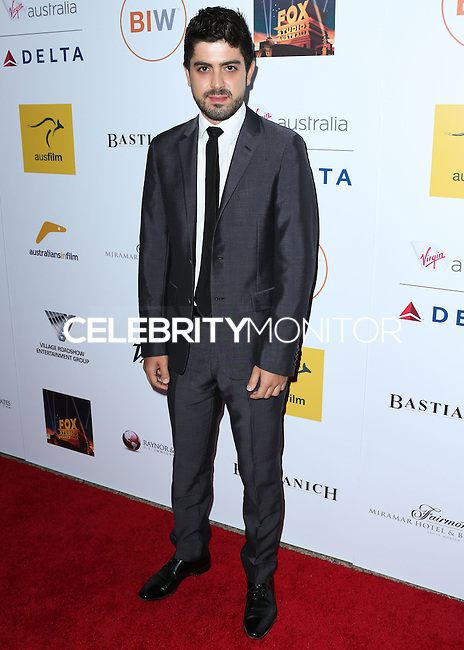 SANTA MONICA, CA, USA - OCTOBER 26: Beejan Land arrives at the 3rd Annual Australians in Film Awards Benefit Gala held at the Starlight Ballroom at Fairmont Miramar Hotel & Bungalows on October 26, 2014 in Santa Monica, California, United States. (Photo by Xavier Collin/Celebrity Monitor)