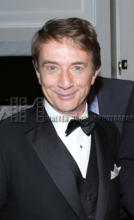 Martin Short attend the re-opening night performance backstage reception for 'It's Only A Play' at the Bernard B. Jacobs Theatre on January 23, 2014 in New York City.