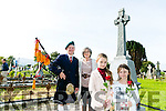 Comoraoh 1916 Centenary Commemoration Captain Jack O'Reilly by the Tralee Irish Volunteer Group at Old Rath on Sunday. Pictured O'Reilly family at the grave were l-r Denis O'Reilly, Anne O'Reilly, Annie O'Reilly and Emily O'Reilly